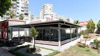 Antalyaspor taraftarları lokalinin inşaatı tamamlandı