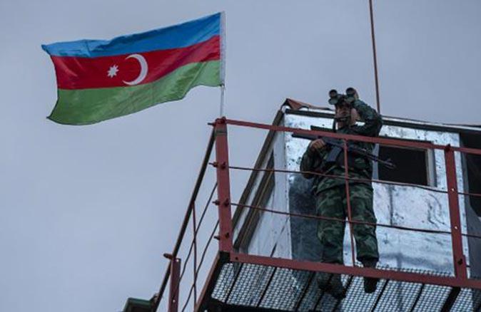Ermeni grup Azerbaycan askerlerine ateş açtı