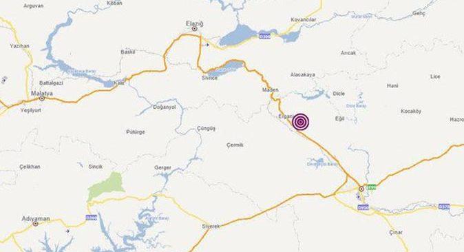 Son dakika.... Diyarbakır'da 4 büyüklüğünde deprem oldu