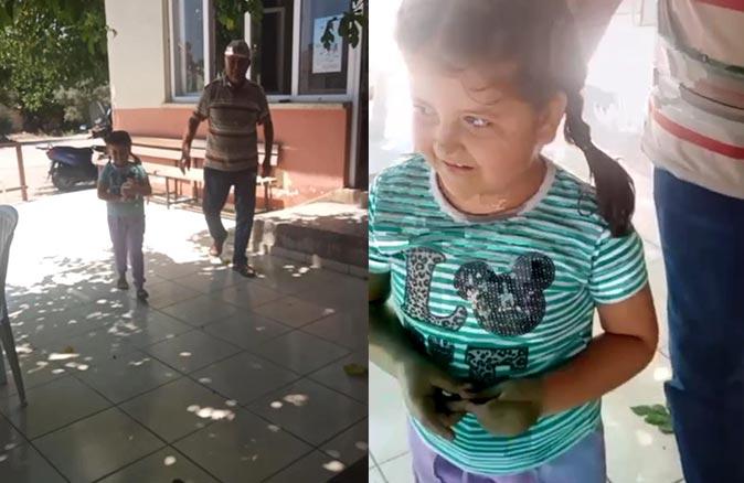 5 yaşındaki Fatma Gül kumbarasındaki biriktirdiği paraları afetzedelere gönderdi