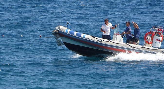Antalya'da 23 yaşındaki Dersin Melham denizde fenalık geçirdi