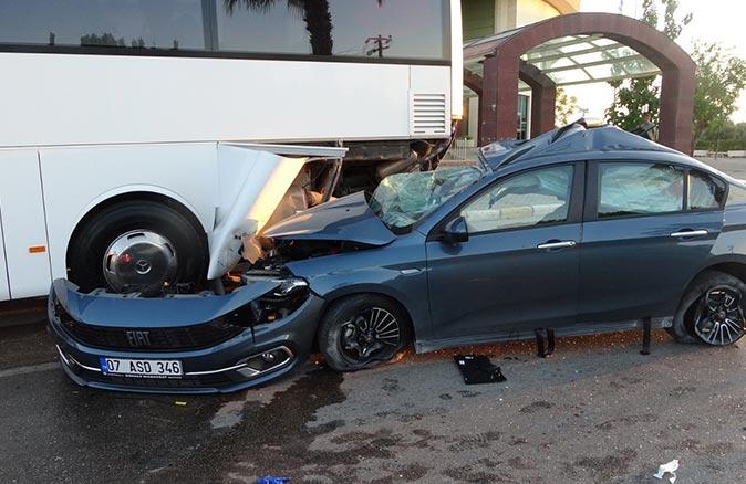 21 yaşındaki Muhammed Sait Tuncel Antalya'daki feci kazada hayatını kaybetti