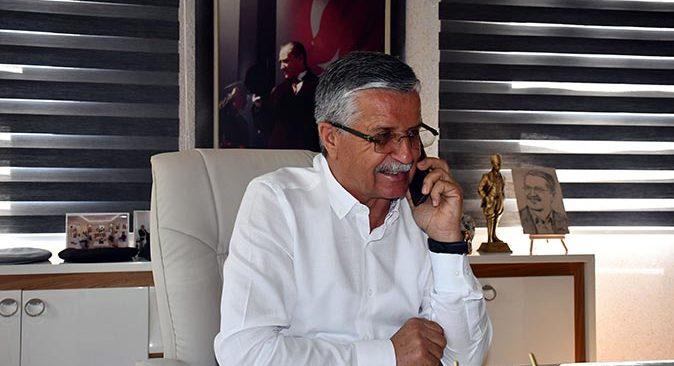 Başkan Necati Topaloğlu TRT Antalya Radyosu'na açıklamalarda bulundu