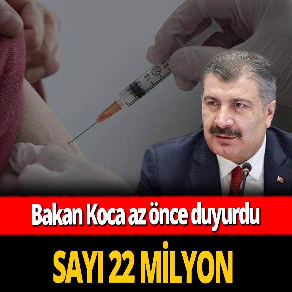 Türkiye'de kaç kişi aşı yaptırmadı? Bakan Koca açıkladı