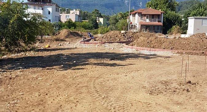 Kemer Belediyesi Kuzdere mahallesine ilk parkını kazandırıyor