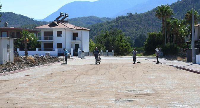 Kemer Belediyesi çalışmalarına hız kesmeden devam ediyor
