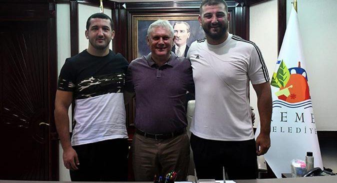 İsmail Erkal ve Gürkan Balcı Kırkpınar yolcusu