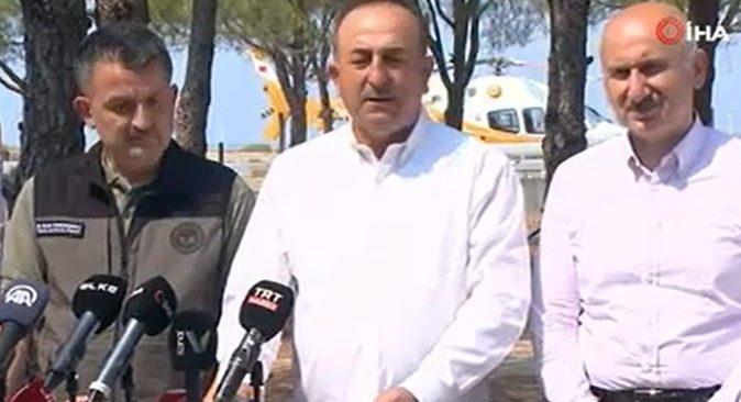 Bakan Mevlüt Çavuşoğlu kısmi ödemeleri yarından itibaren yapılacağını açıkladı