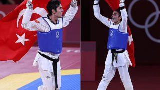 Hakan Reçber ve Hatice Kübra İlgün 2020 Tokyo Olimpiyat Oyunları'nda Türkiye'ye madalya getirdi