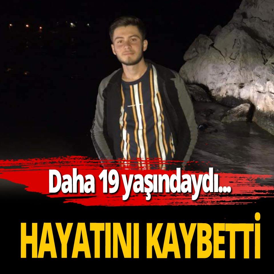 19 yaşındaki Onur Yılmaz feci kazada hayatını kaybetti