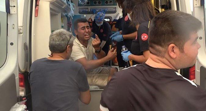 Son dakika... Manavgat'ta yangından kurtulan gencin feryadı yürekleri dağladı