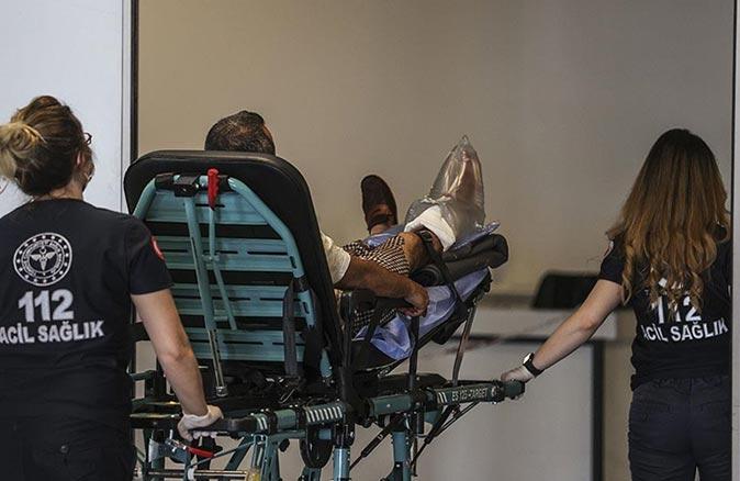 Acemi kasaplar bayramın ilk gününü hastanede geçirdi