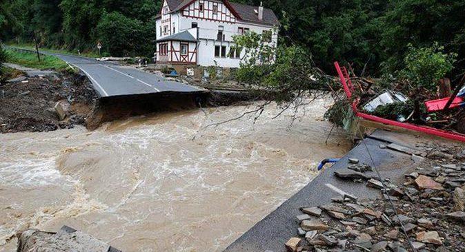 Almanya'daki sel felaketinde ölü sayısı 81'e yükseldi