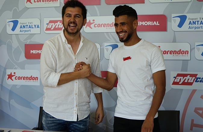 Antalyaspor, Houssam Eddine Ghacha ile 2 yıllık sözleşme imzaladı