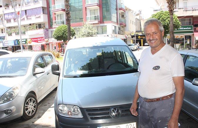 Antalya'da aracının çalınmasıyla bulunması bir oldu!
