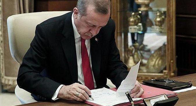 Cumhurbaşkanı Erdoğan imzaladı! Atama kararları Resmi Gazete'de yayımlandı