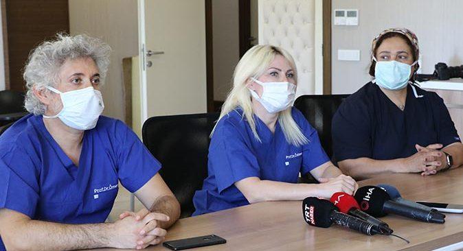Kadavradan ikinci rahim nakli Akdeniz Üniversitesi'nde gerçekleştirildi