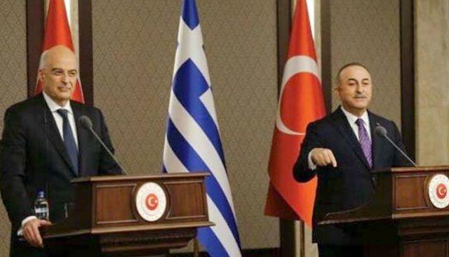 Bakan Çavuşoğlu, Galatasaray'a uygulanan ayrımcılıkla ilgili Yunan Bakan Dendias'la görüştü