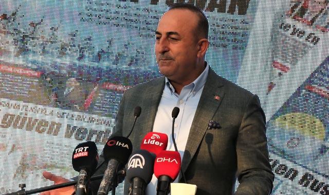 Dışişleri Bakanı Mevlüt Çavuşoğlu: Vallahi sizin bu ikiyüzlülüğünüzden bıktık