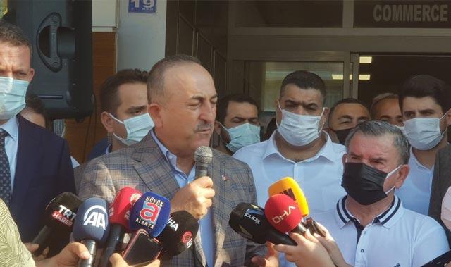 """Bakan Çavuşoğlu: """"Alanya Ticaret ve Sanayi Odası örnek oluyor"""""""