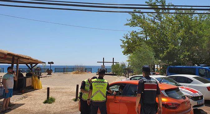 Antalya'da sürücülere 160 bin TL ceza kesildi