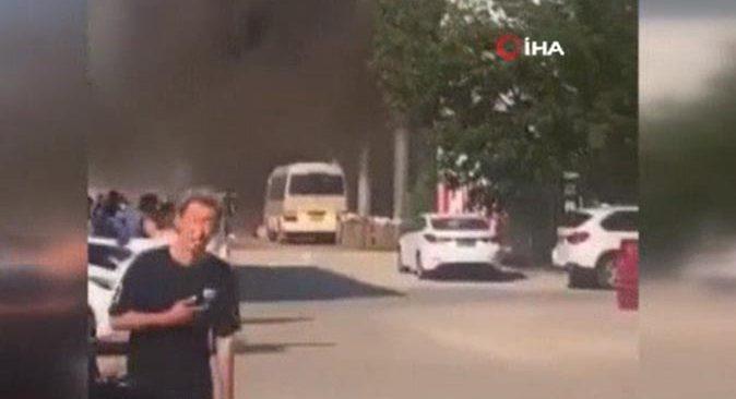 Çin'de yangın faciası