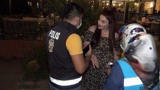 Kırıkkale'de maske takmamak için direndi