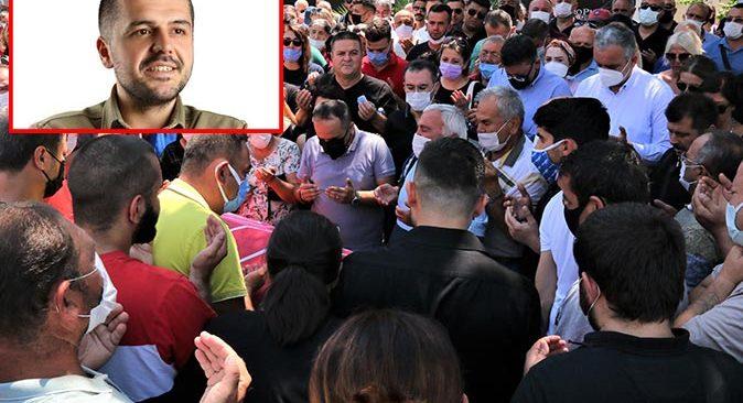 Konyaaltı CHP Gençlik Kolları Başkanı Deniz Demiral son yolculuğuna uğurlandı