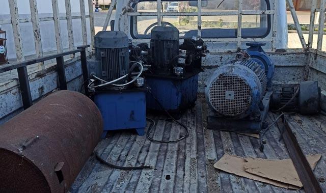 Antalya'da su dinamosu çalan 5 şüpheli gözaltına alındı