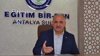 Başkan Eyüp Bülent Miran'dan 600 TL seyyanen zam talebi