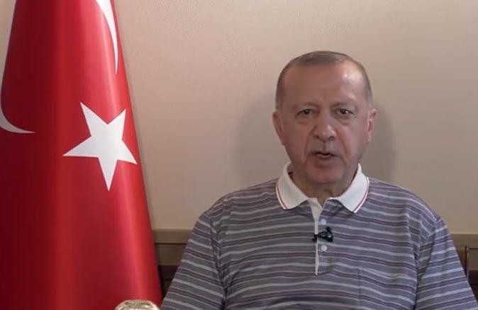 Cumhurbaşkanı Erdoğan'dan varyant açıklaması