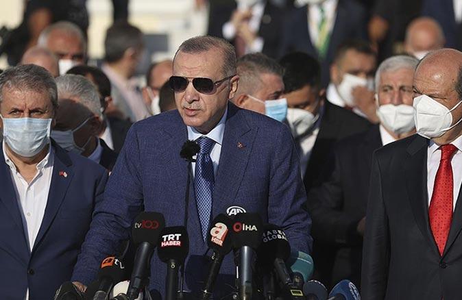 Cumhurbaşkanı Erdoğan: Taliban ile Afganistan konusundaki süreci görüşeceğiz