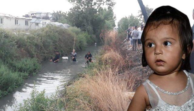 Babasının yanından bir anda kayboldu! 2 yaşındaki Ecrin, derede aranıyor