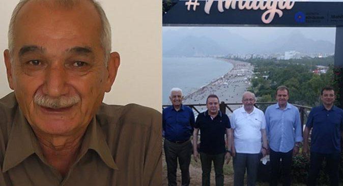 Hüseyin Çimrin'den Başkan Muhittin Böcek'e fotoğraf çektirme noktası eleştirisi