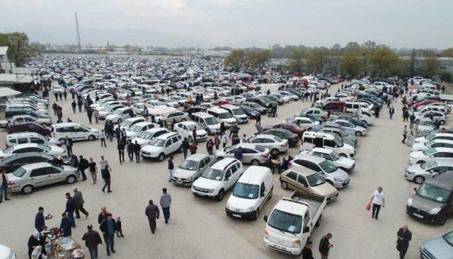 2. el araba piyasasından 80 ile 150 bin liralık araçlar satıldı