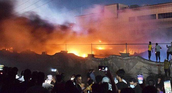 Irak'ta koronavirüs hastanesinde yangın! Can kaybı artıyor