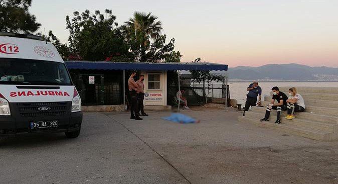 İzmir'de denizde Oğuz Çalışkan'ın cansız bedeni bulundu