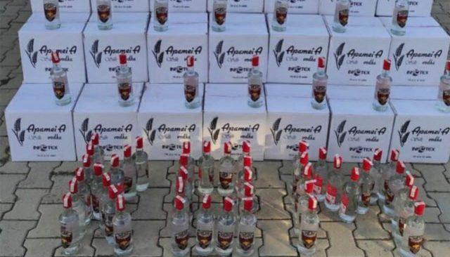 Antalya'da kaçak içki operasyonu! Otel deposunda yakalandı...