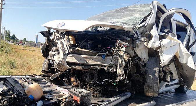 Antalya'daki feci kaza babayı çocuklarından ayırdı!