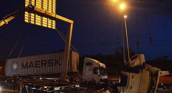İstanbul'da feci kaza! Sürücü Bülent Çaylak hayatını kaybetti
