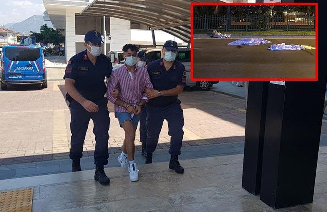Antalya'da iki turistin ölümüne sebep olan sürücü adliyeye sevk edildi