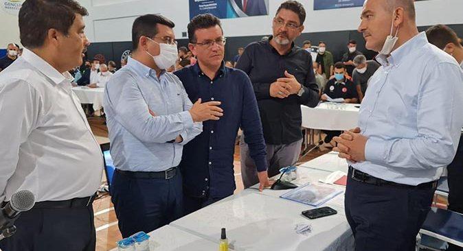 İçişleri Bakanlığı'ndan Kepez Belediyesi'ne Manavgat için önemli görev