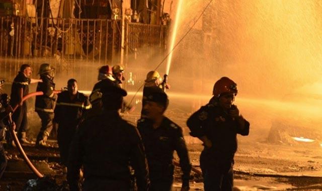 Komşuda korkutan yangın! En az 20 ölü