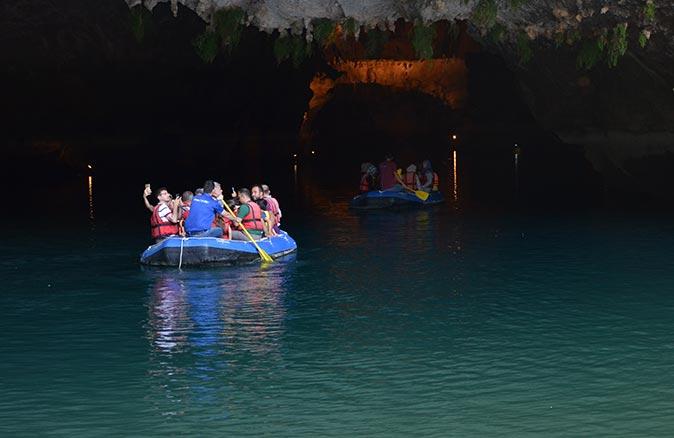 Altınbeşik Mağarası yeniden ziyaretçileri ile buluştu