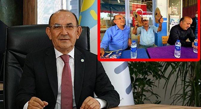 Başkan Mehmet Başaran'dan tartışılan fotoğraf ile ilgili açıklama