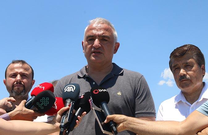 Bakan Mehmet Nuri Ersoy'dan 3 ayda 15 milyon turist hedefi