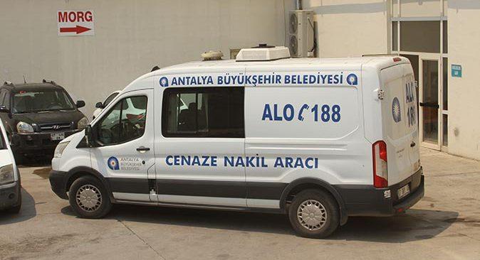 Erdal Tokla ve Yaşar Cinbaş'ın cenazesi Antalya Adli Tıp Kurumuna kaldırıldı