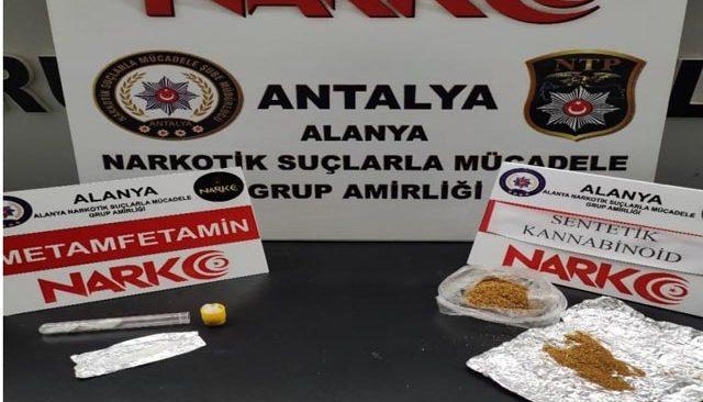 Alanya'da uyuşturucu operasyonu! Gözaltılar var...