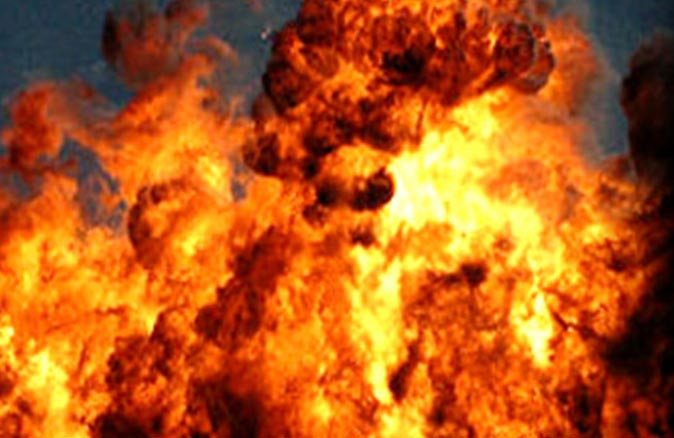 Pakistan'ın Ketta kentinde patlama