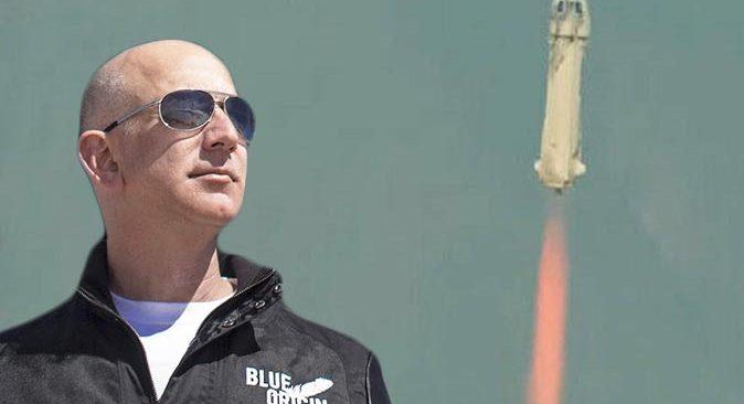 SON DAKİKA! Milyarder Jeff Bezos uzaya gidiyor